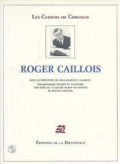 Roger Caillois - Couverture - Format classique