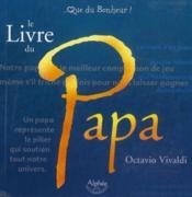 Le livre du papa - Couverture - Format classique