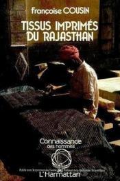 Tissus imprimés du Rajasthan - Couverture - Format classique
