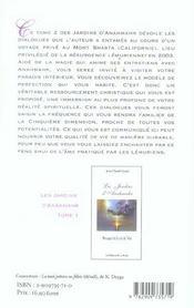 Les jardins d'Anahmahr t.2 ; invitation à Telos - 4ème de couverture - Format classique