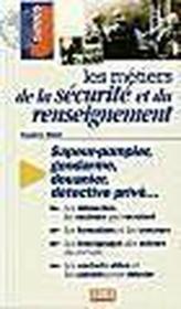 Metiers de la securite et du renseignement (les) - Couverture - Format classique