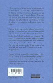 Lievre (Le) - 4ème de couverture - Format classique