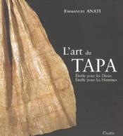 Tapa ; vêtements sacrés de mélanesie et polynésie - Couverture - Format classique