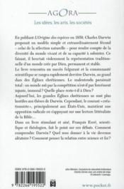 Darwin et le christianisme - 4ème de couverture - Format classique