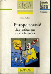 L'Europe Sociale - Couverture - Format classique