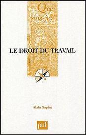 Le droit du travail (2eme edition) - Intérieur - Format classique
