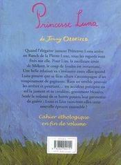 Le Ranch De La Pleine Lune T.8 ; Princesse Luna - 4ème de couverture - Format classique