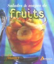 Salades Et Soupes De Fruits - Couverture - Format classique