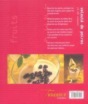 Salades Et Soupes De Fruits - 4ème de couverture - Format classique