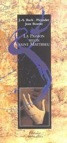 La Passion Selon Saint Matthieu - Intérieur - Format classique