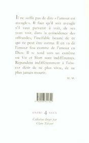 Amours A En Mourir - 4ème de couverture - Format classique