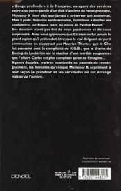 Memoires Secrets T2 - 4ème de couverture - Format classique