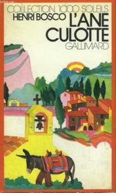 L'Ane Culotte. Collection : 1 000 Soleils. - Couverture - Format classique