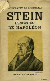 Stein L Ennemi De Napoleon. - Couverture - Format classique