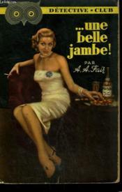Une Belle Jambe ! Collection Detective Club N° 55 - Couverture - Format classique
