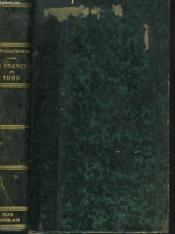 La France En 1889 - Couverture - Format classique