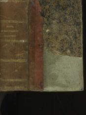 Manuel Du Baccalaureat Es Lettres. - Couverture - Format classique