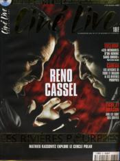 CINE LIVE - N° 39 - RENO / CASSEL - Les rivières pourpres, Mathieu Kassovitz explore le cercle polar - Couverture - Format classique