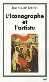 L'iconographe et l'artiste - Intérieur - Format classique