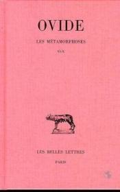 Metamorphoses T2 L6-10 - Couverture - Format classique