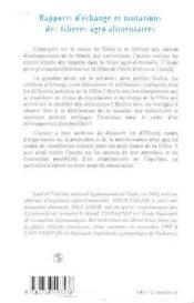 Rapports D'Echange Et Mutations Des Filieres Agro-Alimentaires ; Modes De Coordination Dans La Filiere D'Huile D'Olive - 4ème de couverture - Format classique