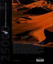 Sahara ; entre ciel et sable - 4ème de couverture - Format classique