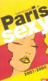 Guide musardine du paris sexy (édition 2007-2008) - Intérieur - Format classique