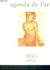 Agenda De L'Art 1993 - Couverture - Format classique