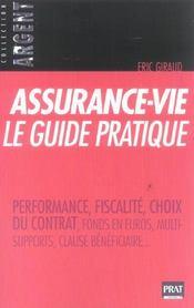 Assurance-Vie, Le Guide Pratique 2005 - Intérieur - Format classique
