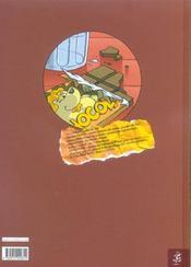 Le chocolat magique - 4ème de couverture - Format classique