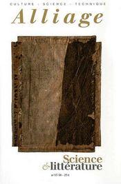 Revue Alliage N.57-58 ; Science Et Littérature - Intérieur - Format classique