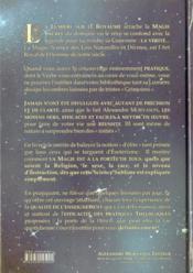 La lumière sur le royaume ; ou pratique de la magie sacrée au quotidien - 4ème de couverture - Format classique