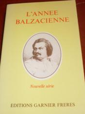 L'Annee Balzacienne. 1981. - Couverture - Format classique