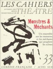 Cahiers de la comedie francaise no 33 - Couverture - Format classique
