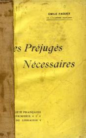 Les Prejuges Necessaires - Couverture - Format classique