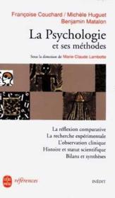 La Psychologie Et Ses Methodes-Inedit - Couverture - Format classique