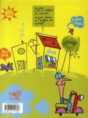 Grouik t.1 ; je veux des vacances - 4ème de couverture - Format classique