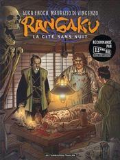 Rangaku t.1 ; la cité sans nuit - Intérieur - Format classique