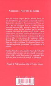 Miniatures de la solitude - 4ème de couverture - Format classique