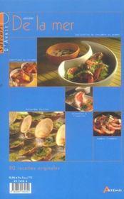 Cuisine De La Mer - 4ème de couverture - Format classique