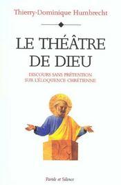 Theatre De Dieu - Intérieur - Format classique