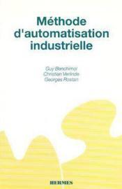 Methode d'automatisation industrielle - Couverture - Format classique