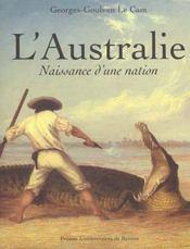 L'Australie naissance d'une nation - Intérieur - Format classique