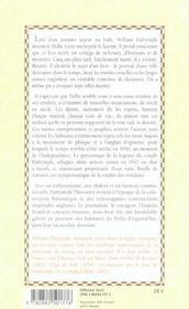 La Cite Des Djinns Une Annee A Delhi - 4ème de couverture - Format classique