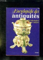 Encyclopedie Des Antiquites. - Couverture - Format classique