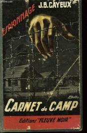 Carnet de Camp - Couverture - Format classique