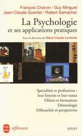 La Psychologie Et Ses Applications Pratiques - Intérieur - Format classique