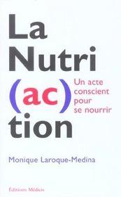 Nutri (ac) tion (la) - Intérieur - Format classique