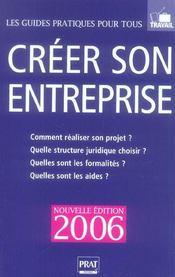 Creer Son Entreprise - Intérieur - Format classique