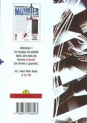 Monster t.12 ; la villa des roses - 4ème de couverture - Format classique